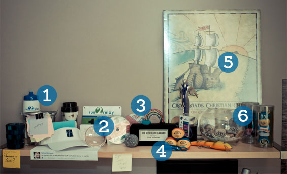 Blog: Stones at my Desk