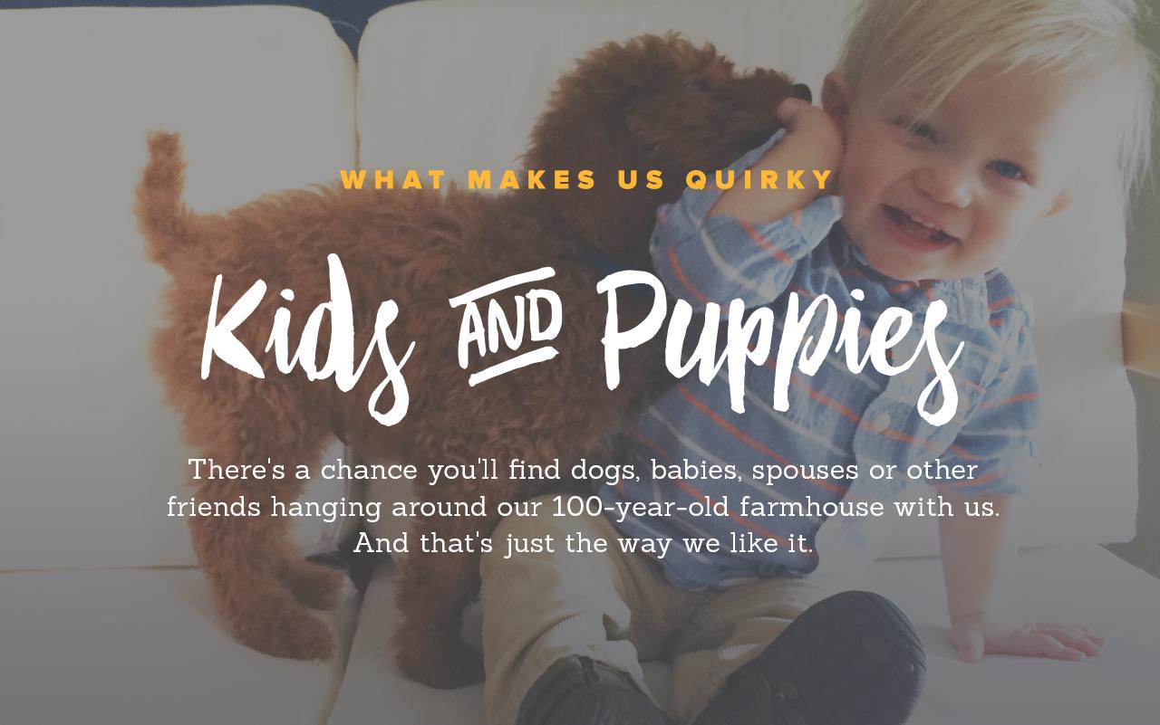 Kids & Puppies!